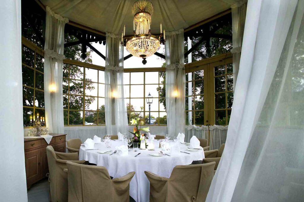 Hotel Hasselbacken Stockholm room pavilion dining