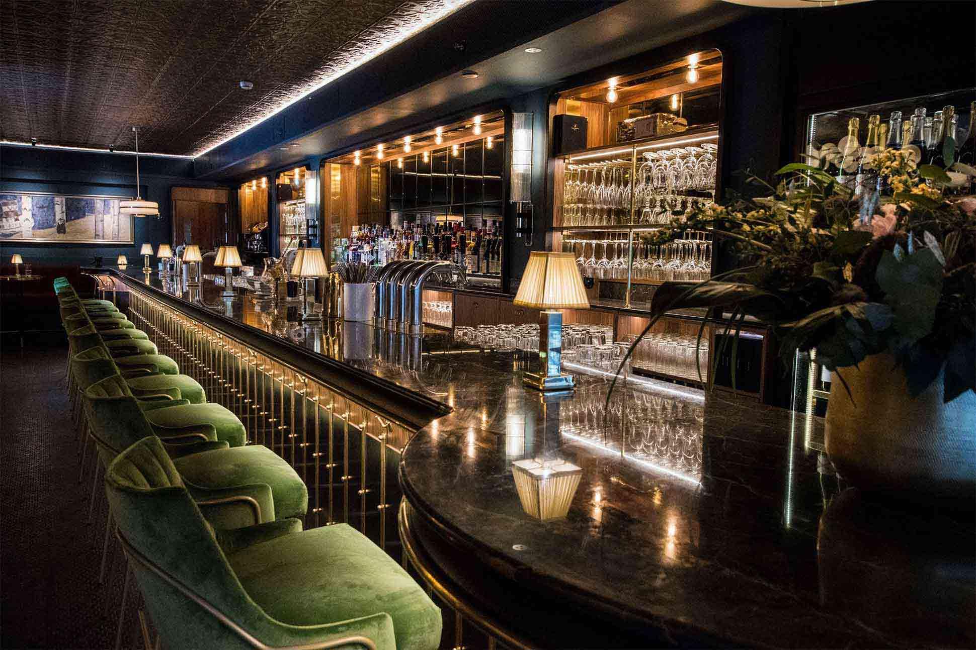 Watsons' Bar at Hotel Rival, Stockholm, Sweden