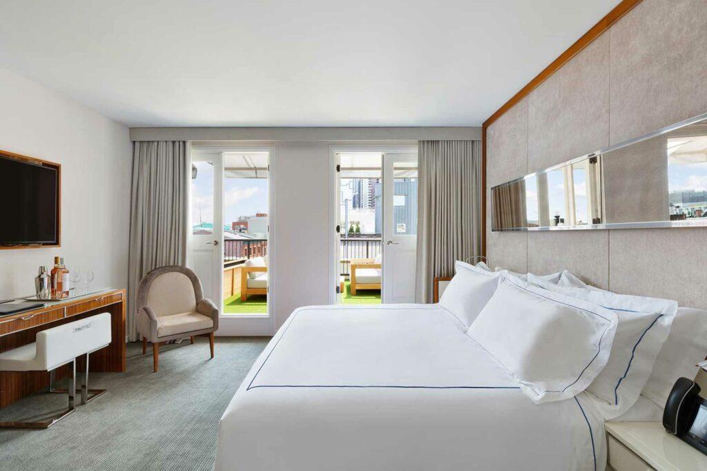 Mr C Seaport New York City NYC suite