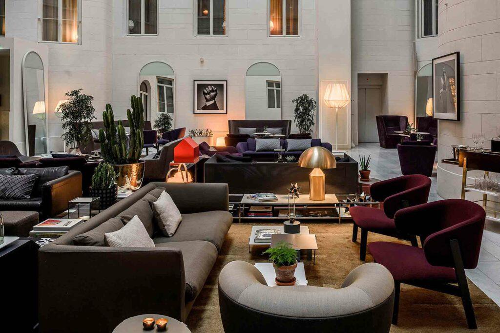 Nobis Stockholm atrium