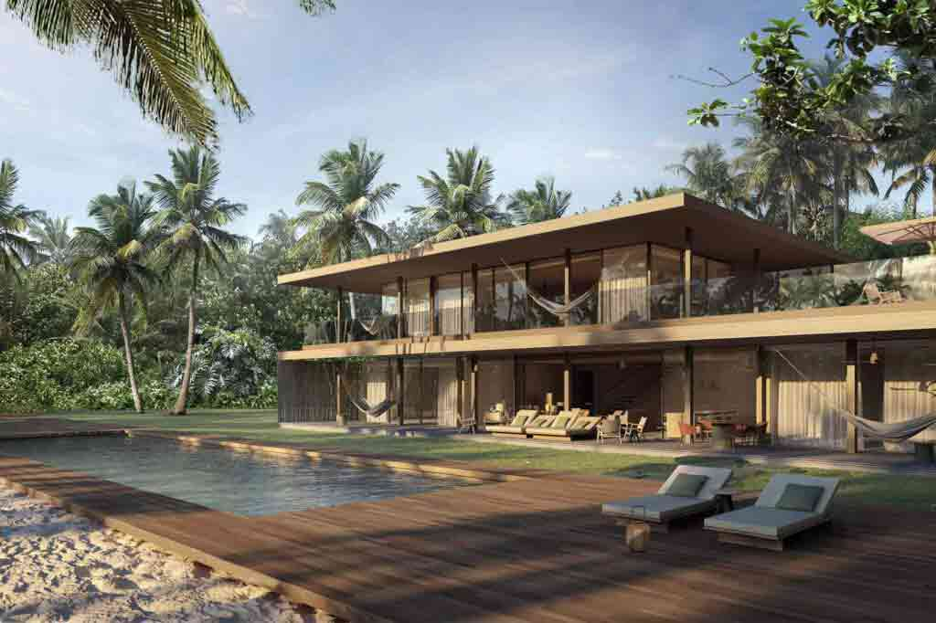 Two-storey villa at Patina Maldives