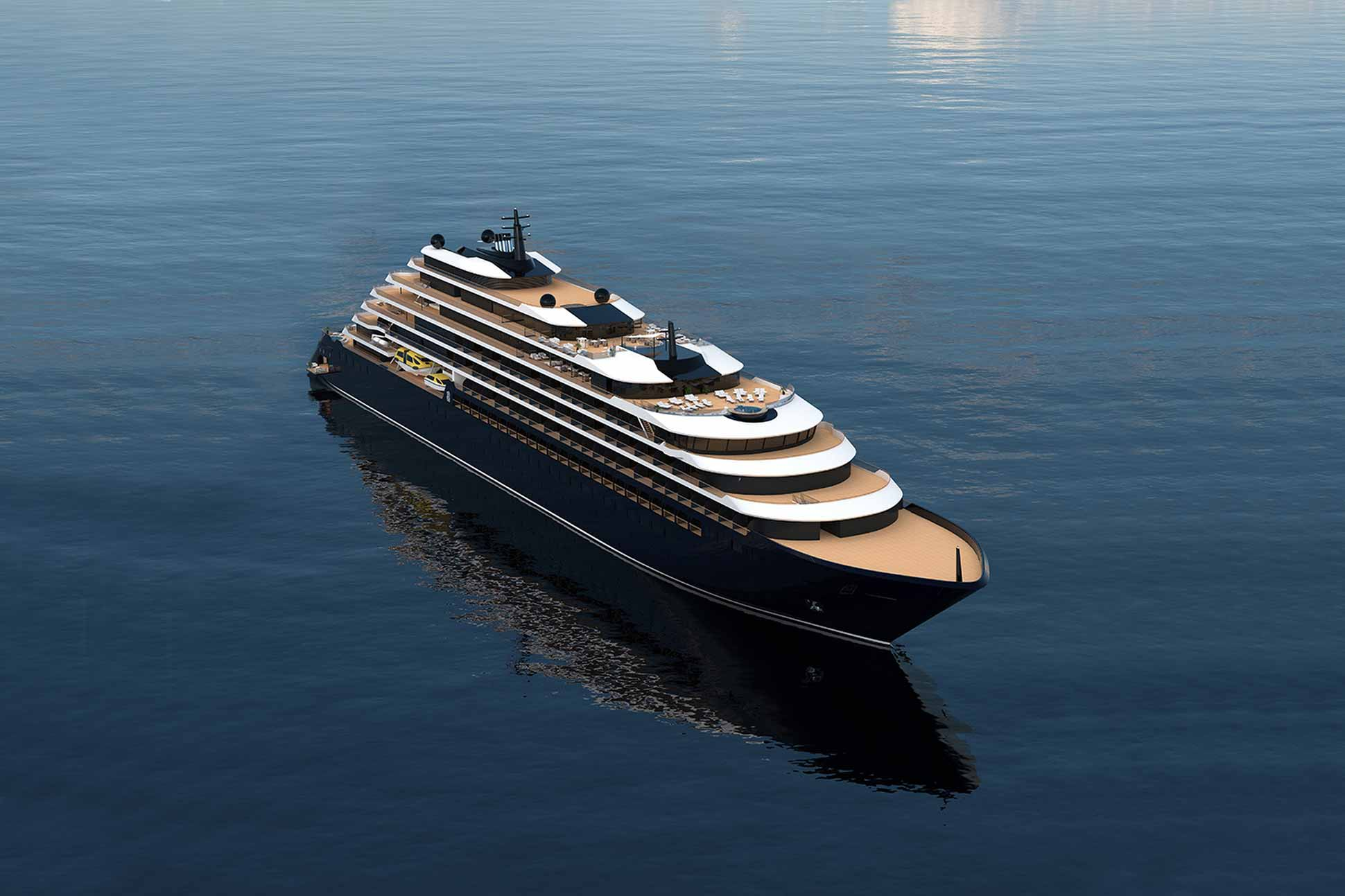 The Ritz-Carlton Yacht Collection ship render