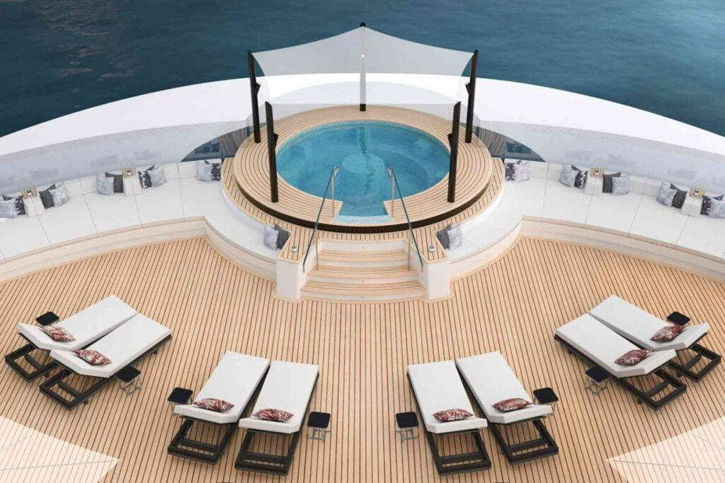 The Ritz-Carlton Yacht Collection jacuzzi render