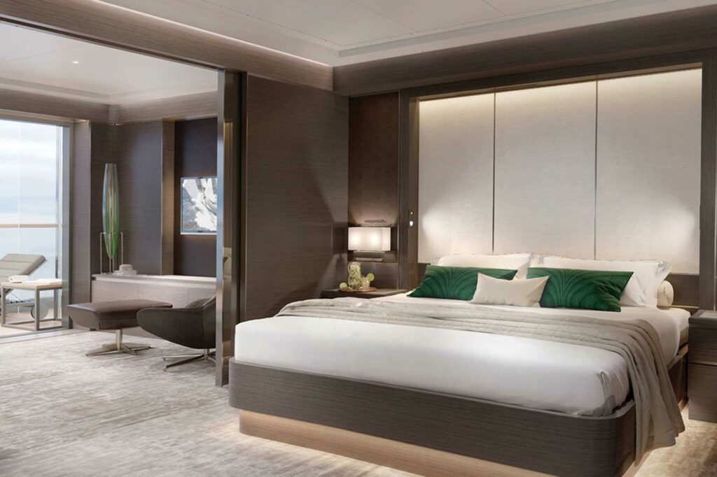 The Ritz-Carlton Yacht Collection suite render