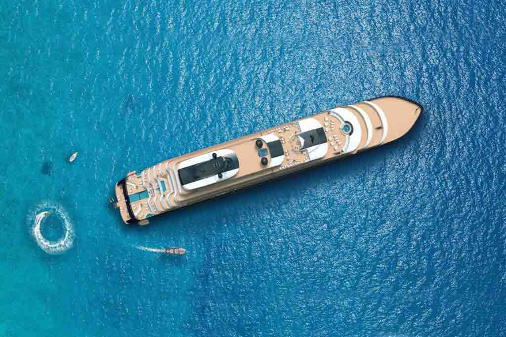 The Ritz-Carlton Yacht Collection activities render