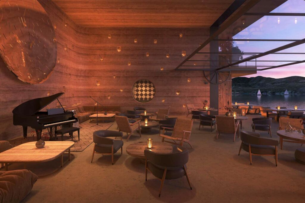 Live music at Six Senses Ibiza, Spain