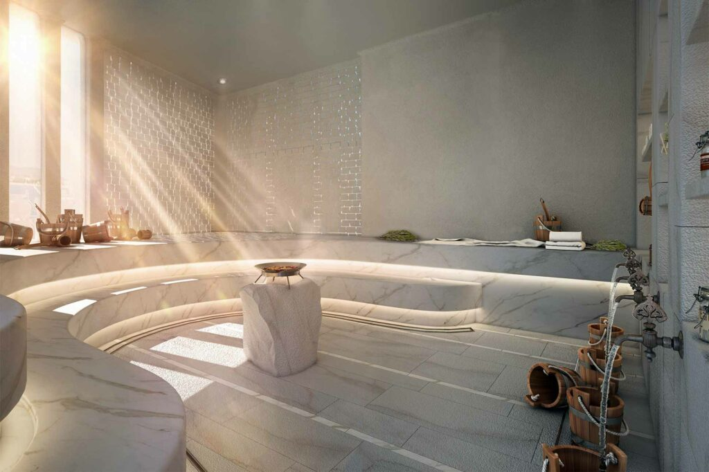 The spa at Six Senses Ibiza, Spain