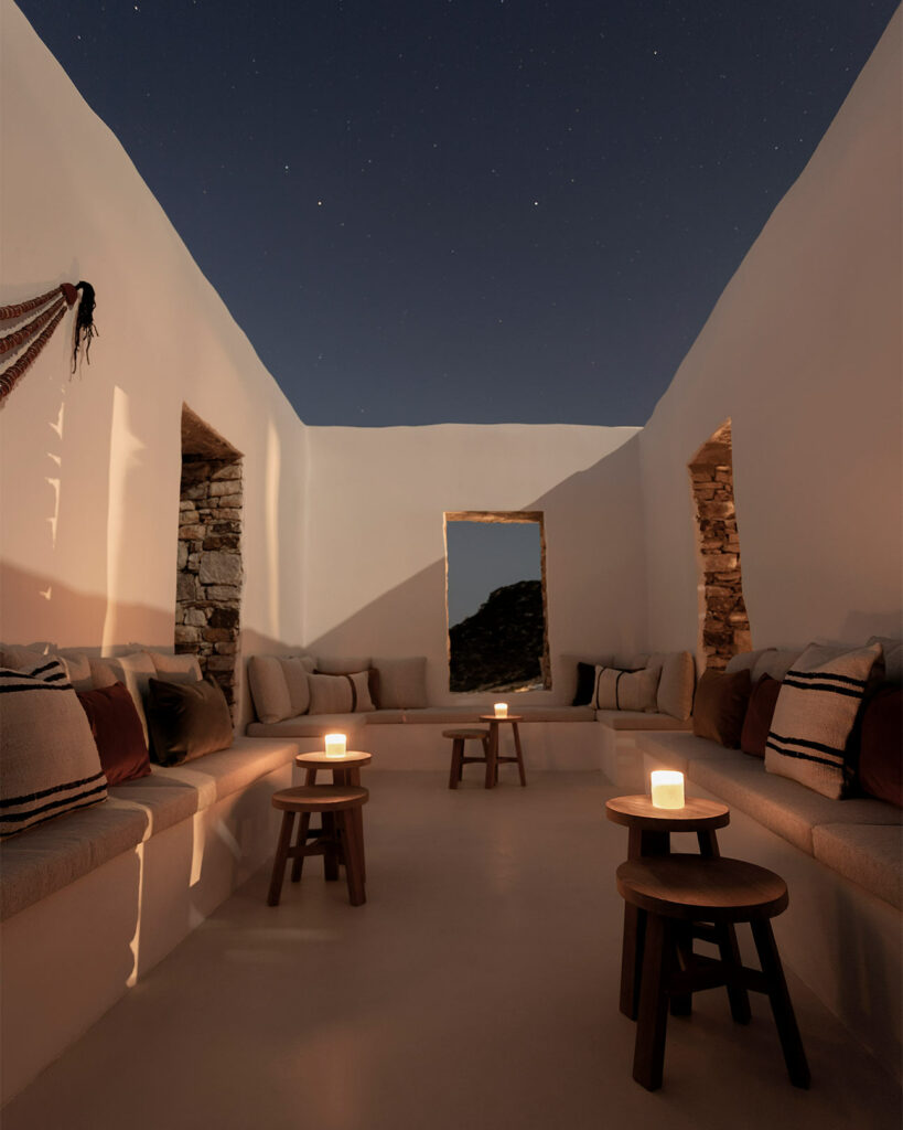 Stargazing at The Rooster, Antiparos, Greece