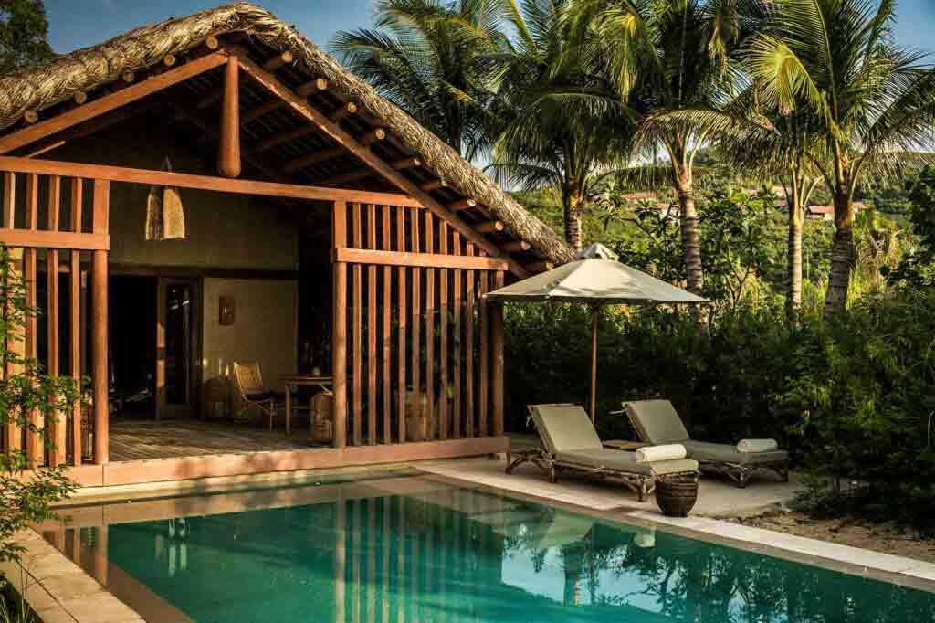 Private pool villa at Zannier Hotels Bãi San Hô, Vietnam