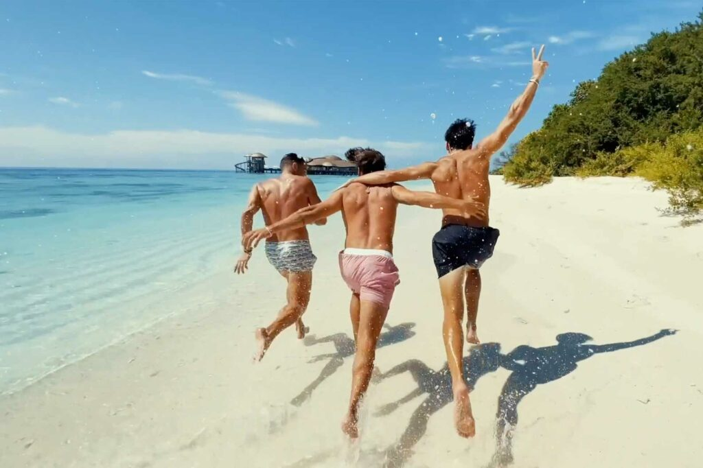 OutThere friends that are family at Soneva Maldives