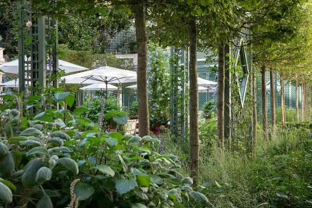 Oetker Gardens Le Bristol Paris