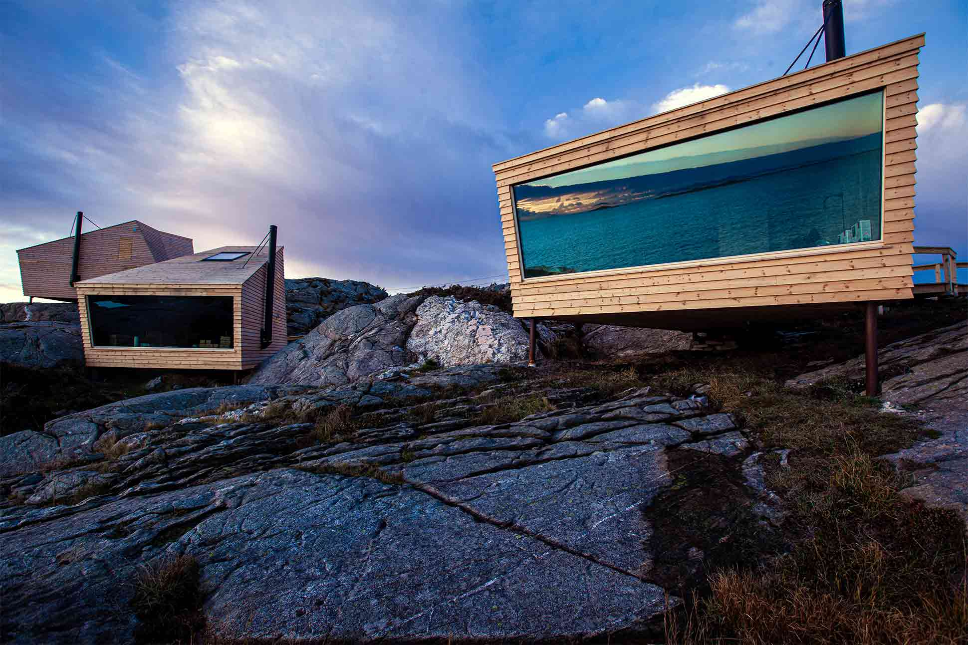 Norway designer cabins: <br> Nest rest