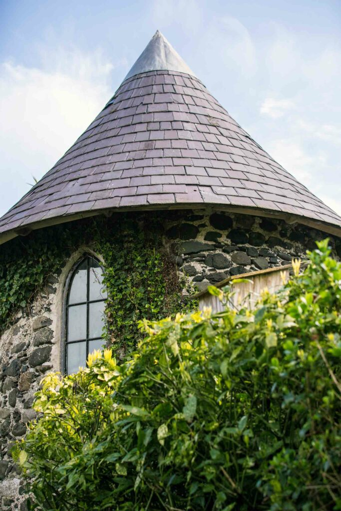 Tower at Ballygally Castle Hotel, Northern Ireland