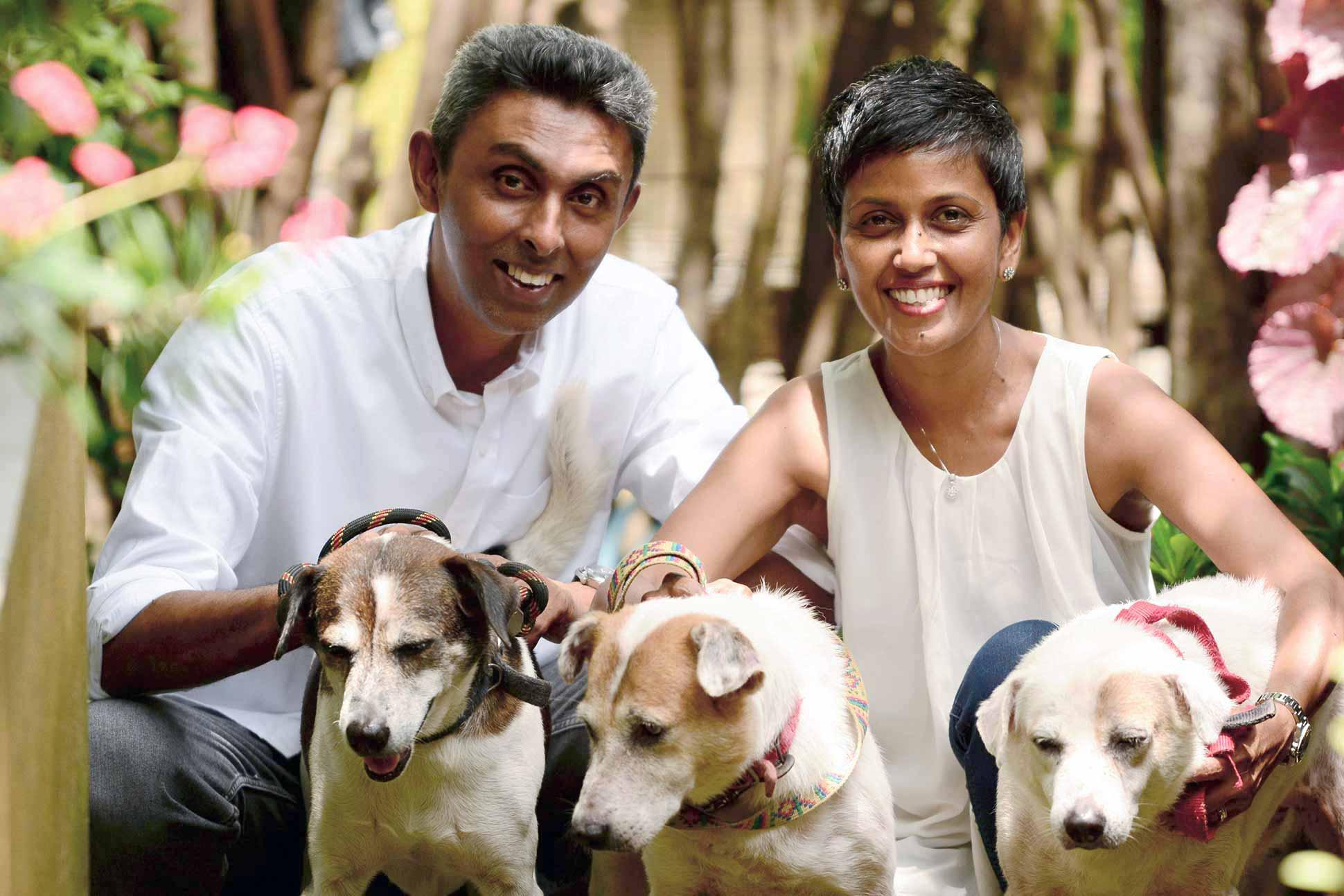 Chamintha and Rajindra Jayasinghe <br> Colombo, Sri Lanka