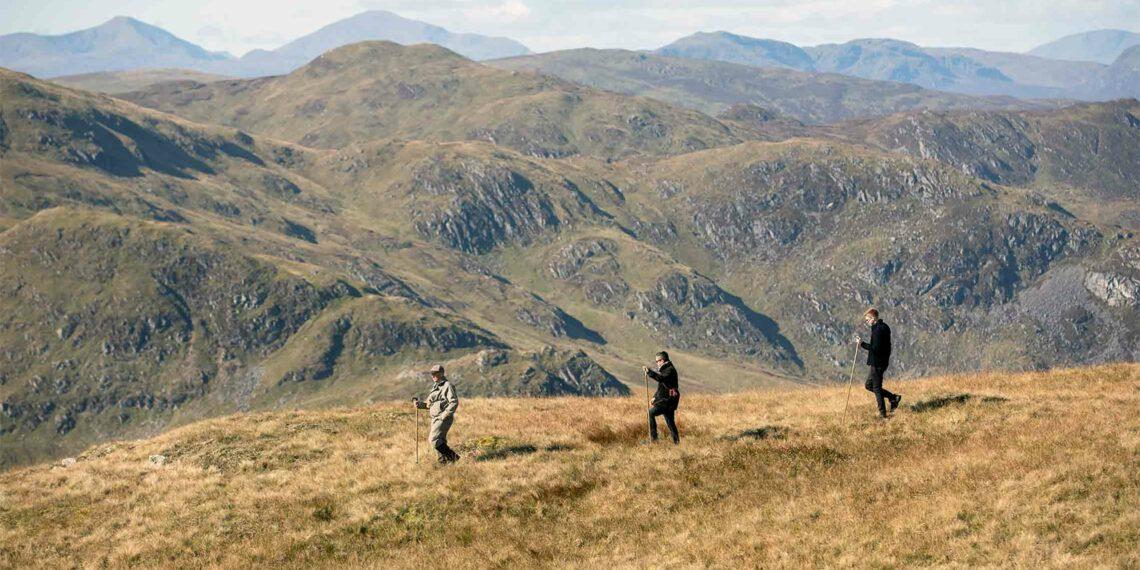 Hiking in Auchterarder, Scotland