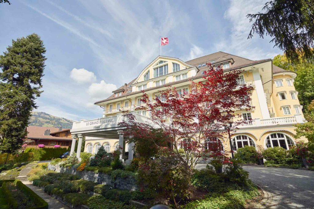 Alpine wellness is at the forefront of everything they do at Le Grand Bellevue, Gstaad, Switzerland
