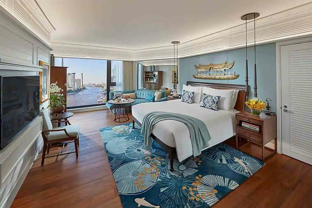 Mandarin Oriental Bangkok Oriental Hotel bedroom