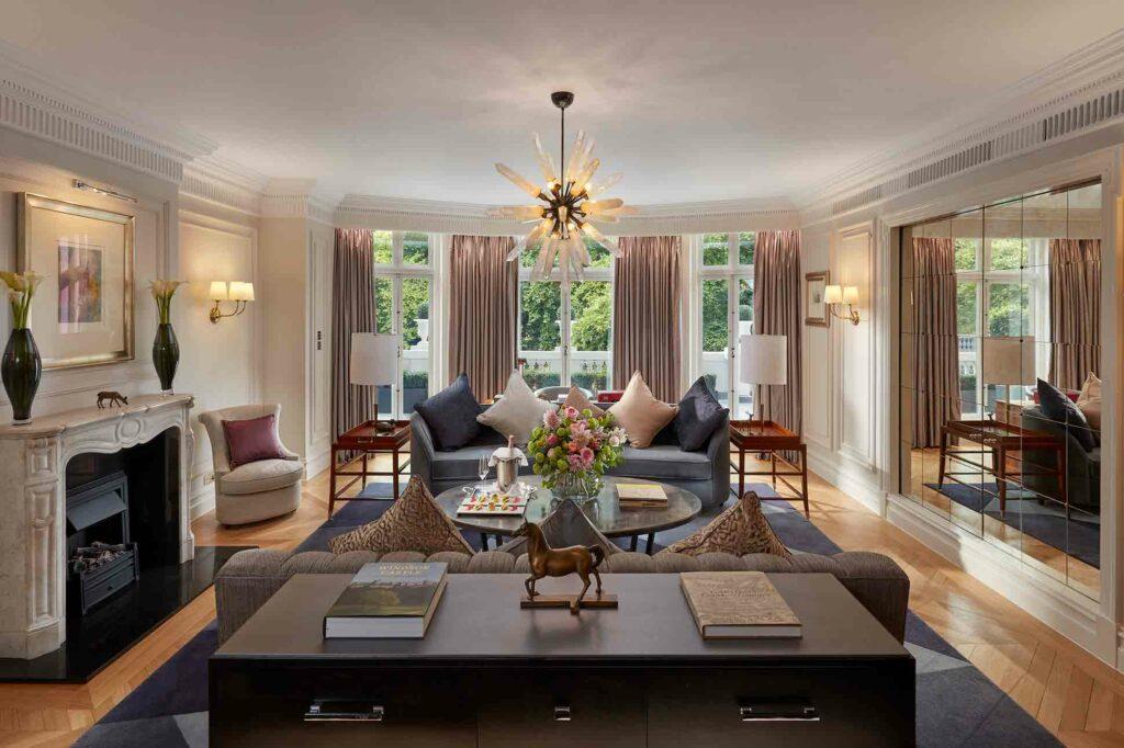 Mandarin Oriental Hyde Park London Suite salon