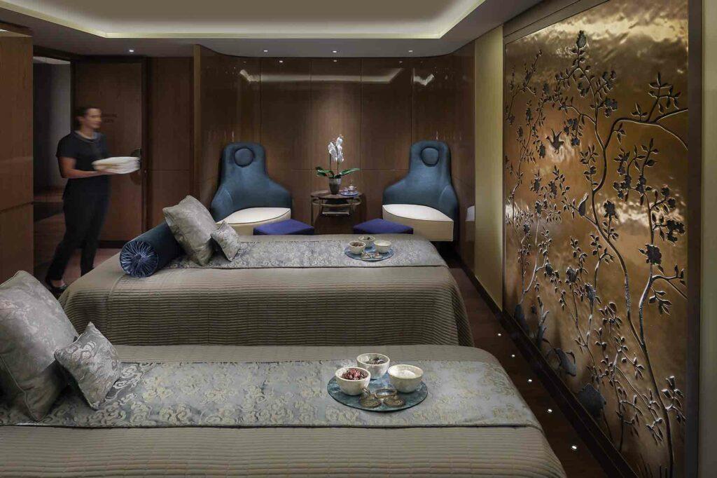 Mandarin Oriental Hyde Park London Suite spa