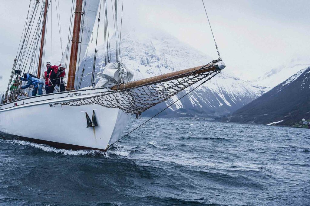 Sailing is all about adventure