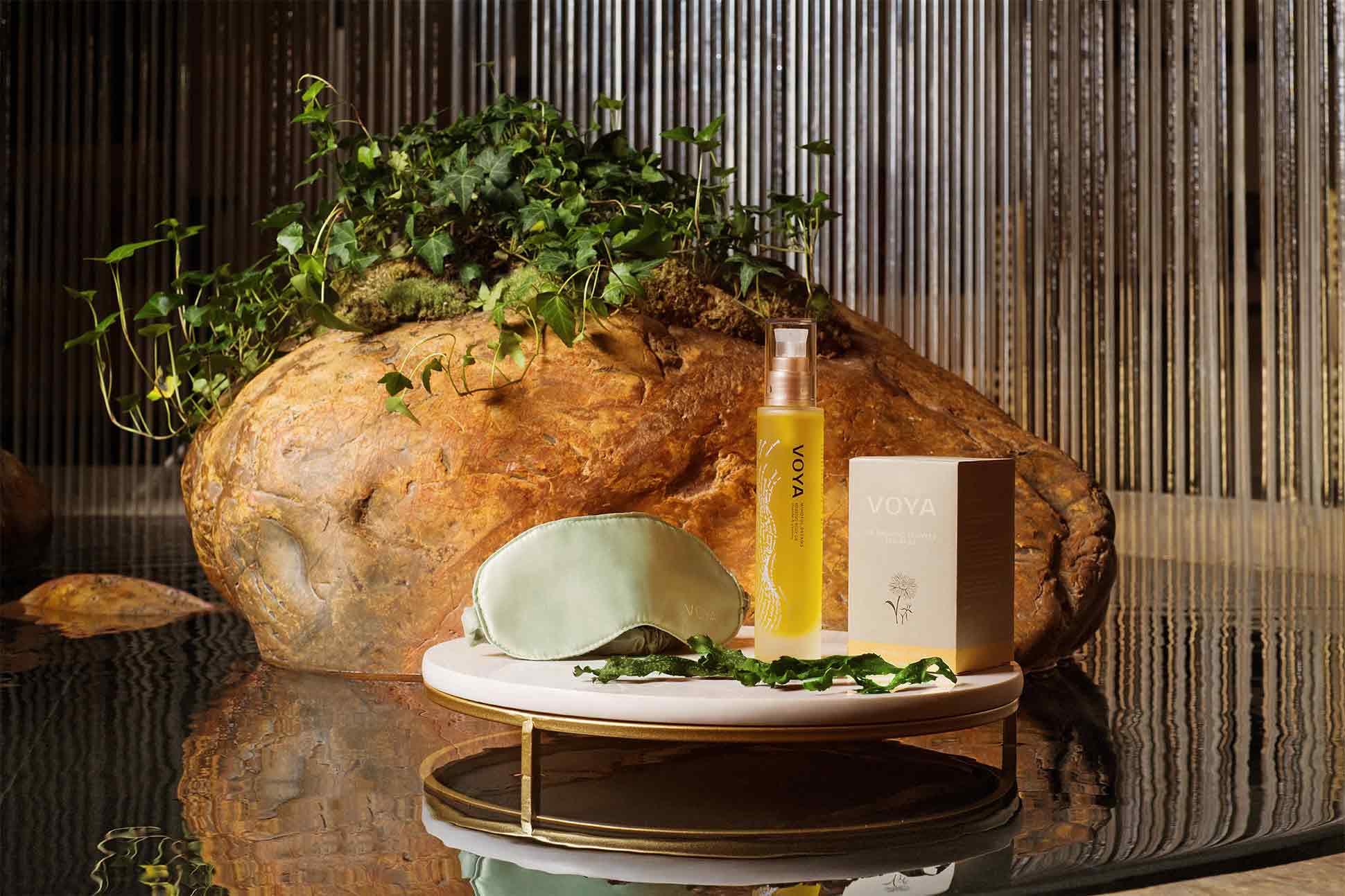 VOYA products showcased at The Peninsula Hong Kong spa