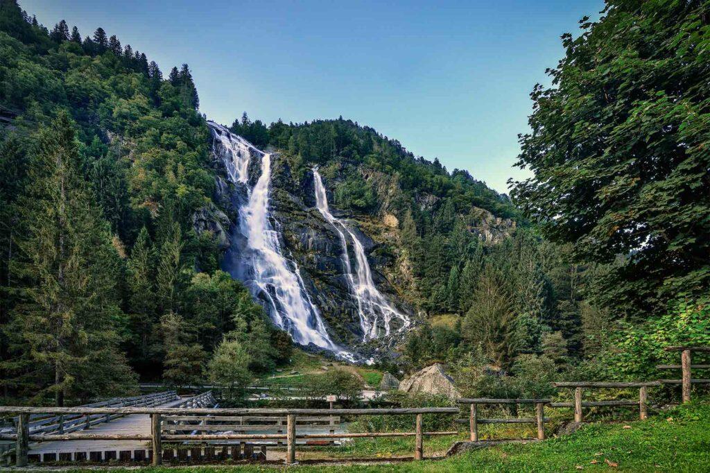 Alpine wellness in Val di Genova, Italy