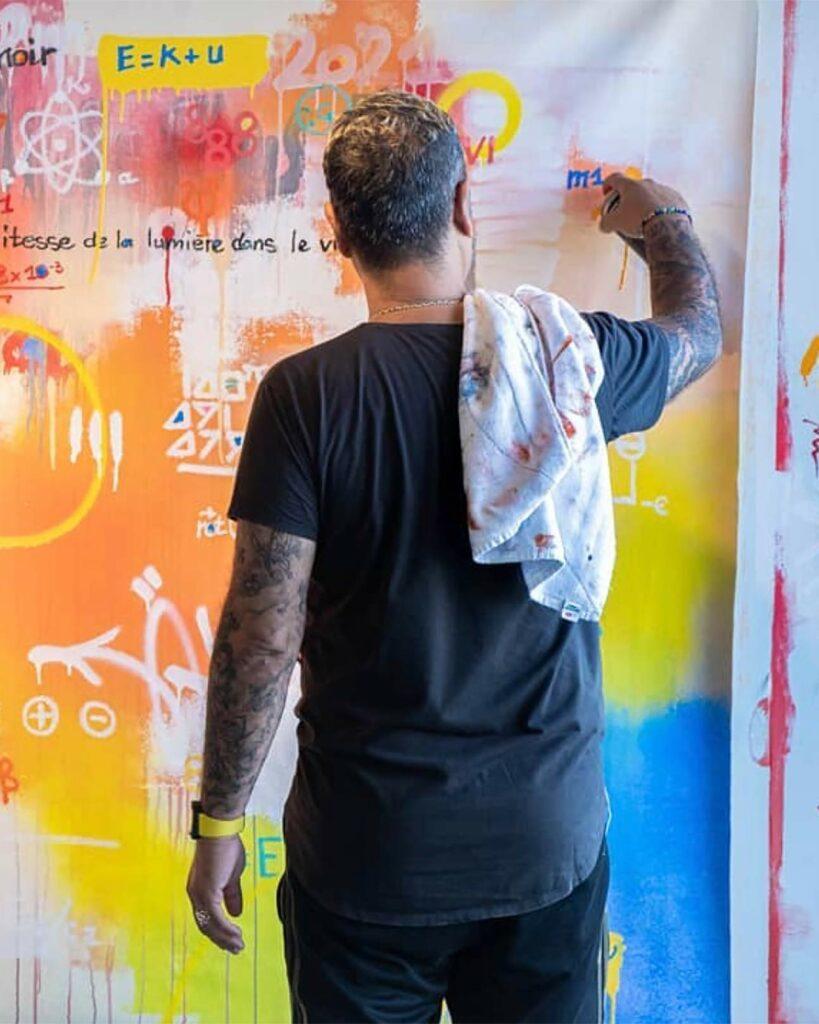 Artist Cyril Kongo