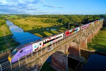 Avanti West Coast rainbow pendolino train