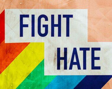Fight hate Pride
