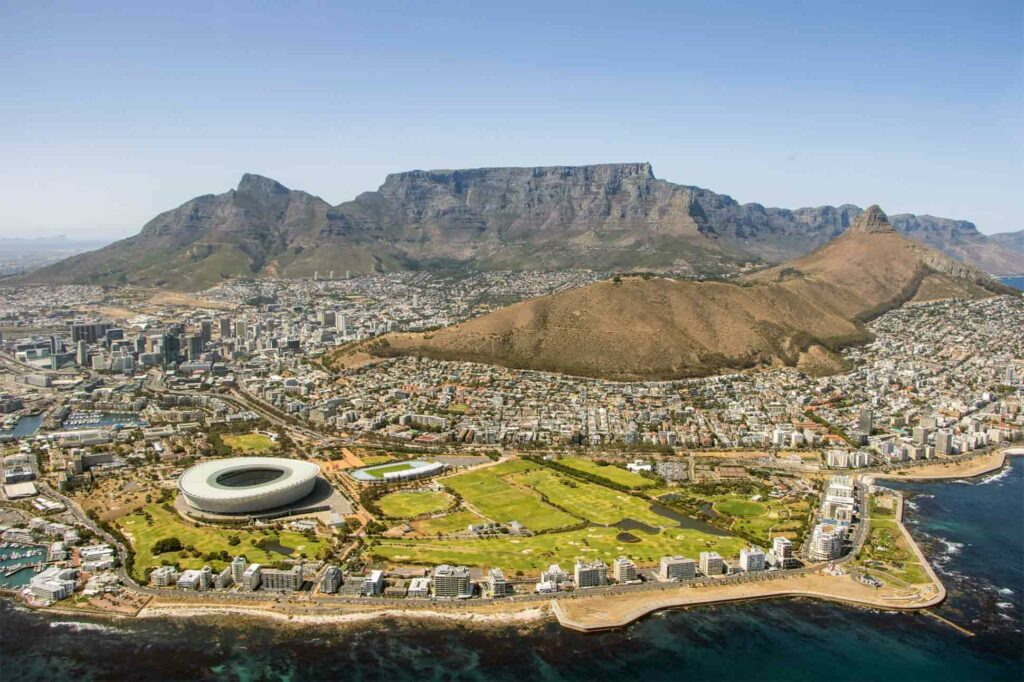 View over Cape Town, South Africa