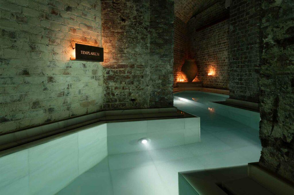 Templarium at AIRE Ancient Baths London, UK