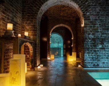 Interior at AIRE Ancient Baths London, UK