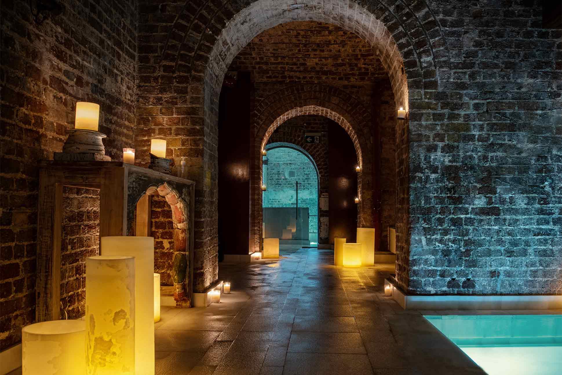 AIRE Ancient Baths London: <br> Golden grotto