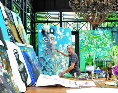 Bill Bensley Paintings
