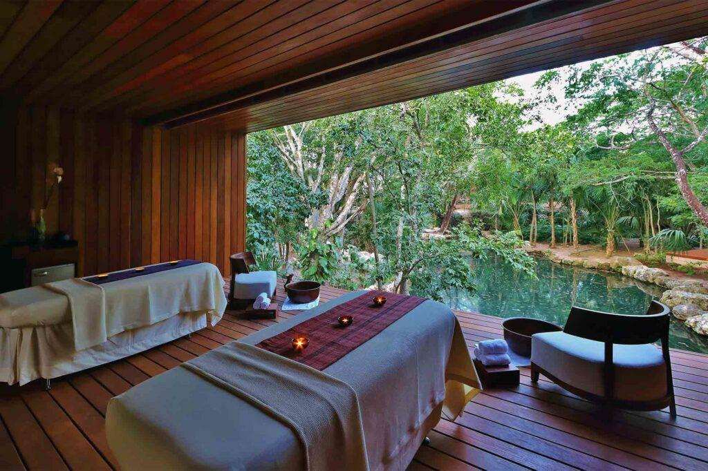 Spa at Chablé Yucatan, part of Chablé Hotels