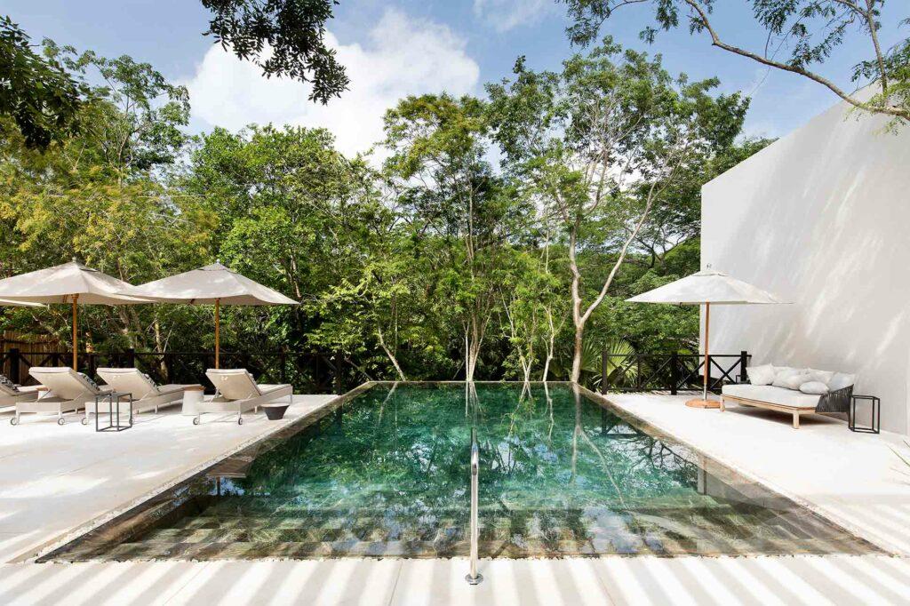 Pool at Chablé Yucatan, part of Chablé Hotels