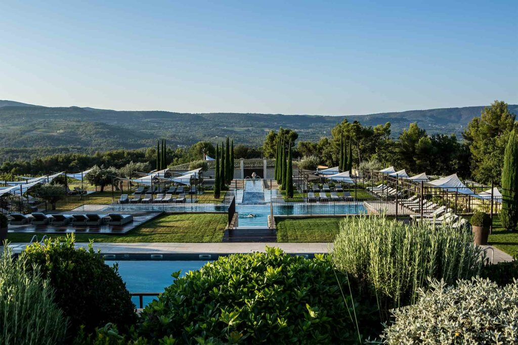Pool at the Coquillade Provence Resort & Spa, France