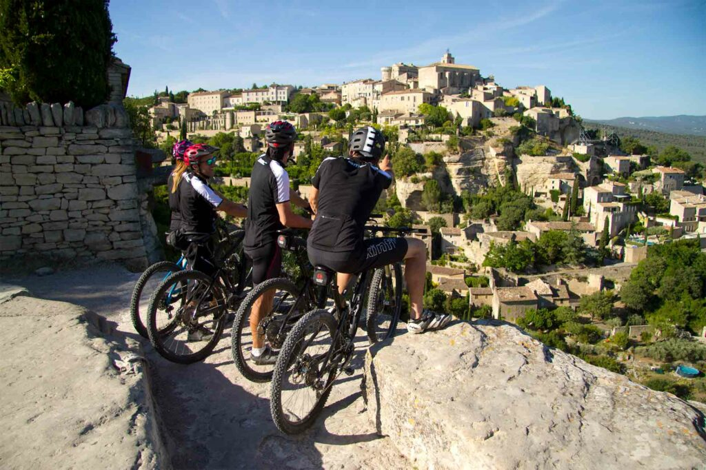A guided cycling tour with the Coquillade Provence Resort & Spa, France