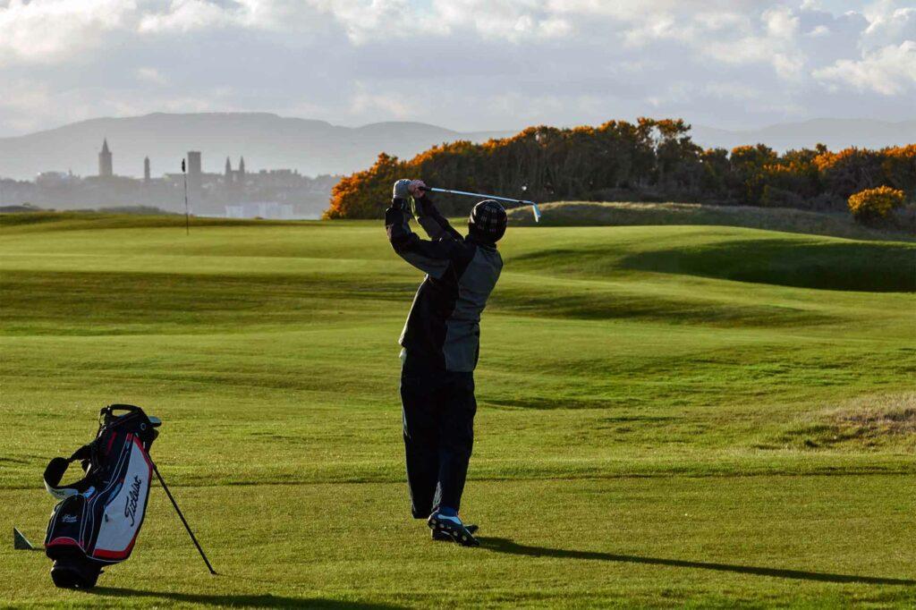 The Kittocks golf course, Scotland