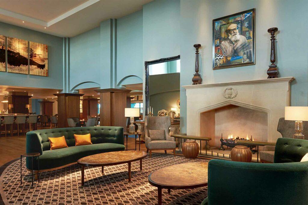 Lobby at Fairmont St Andrews, Scotland
