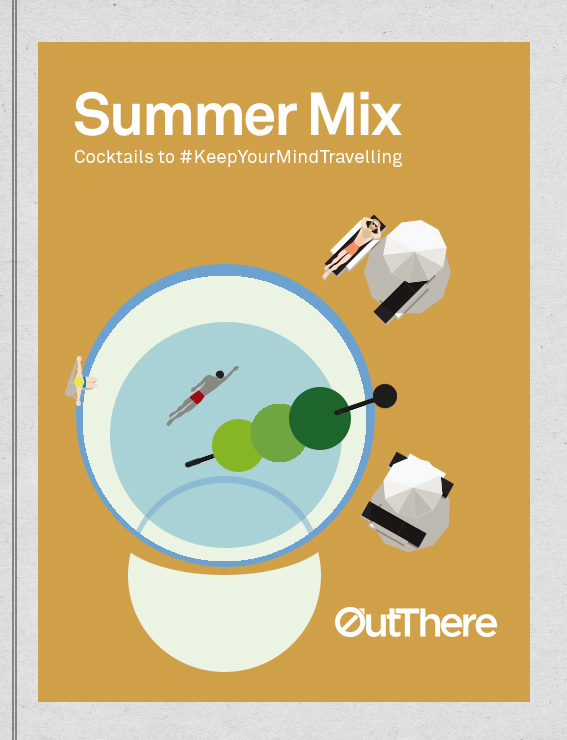 OutThere Summer Mix Cocktail book