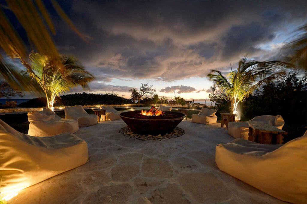 Sunset at The Aerial BVI, British Virgin Islands