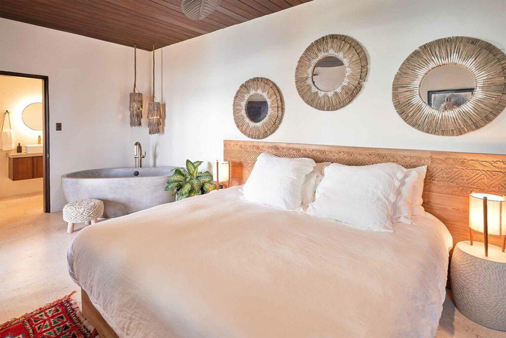 Bedroom at The Aerial BVI, British Virgin Islands