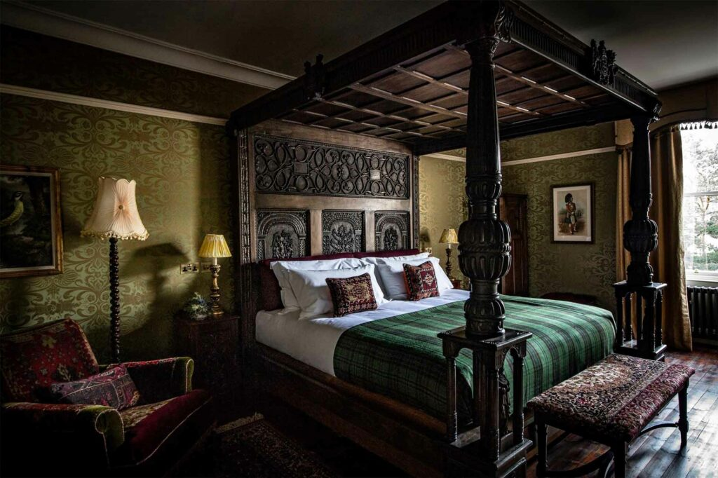 A suite at The Fife Arms, Braemar, Scotland