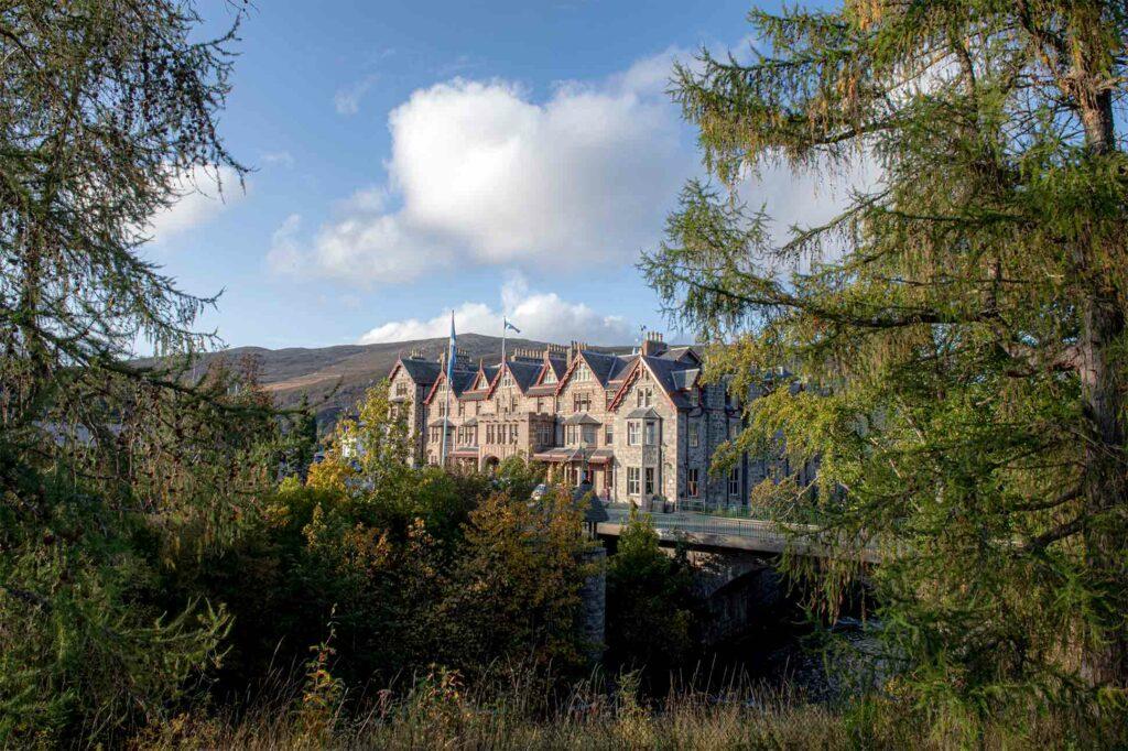 Exterior view of The Fife Arms, Braemar, Scotland