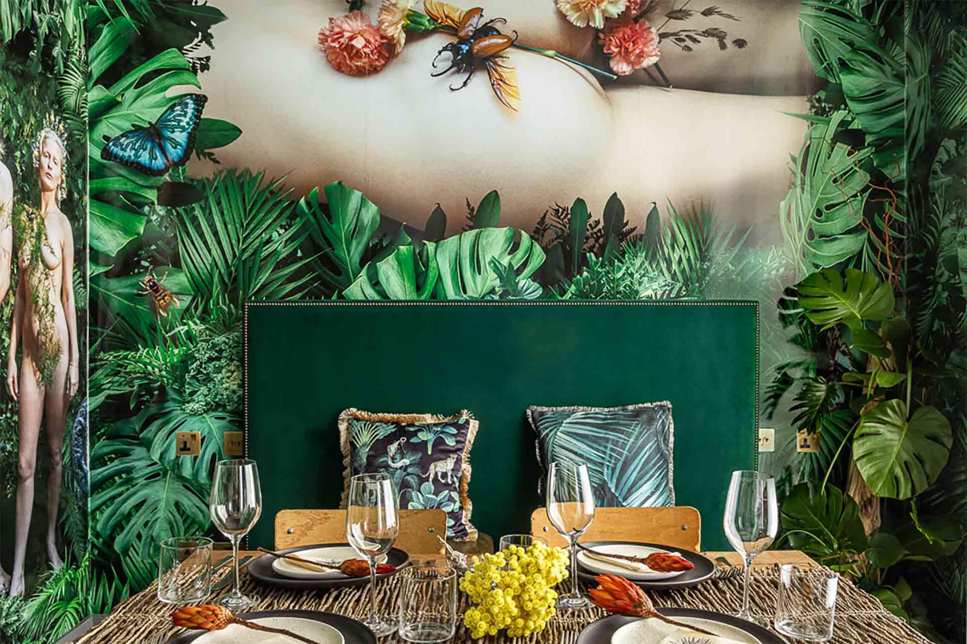 The Mandrake artist cabanas, London, UK