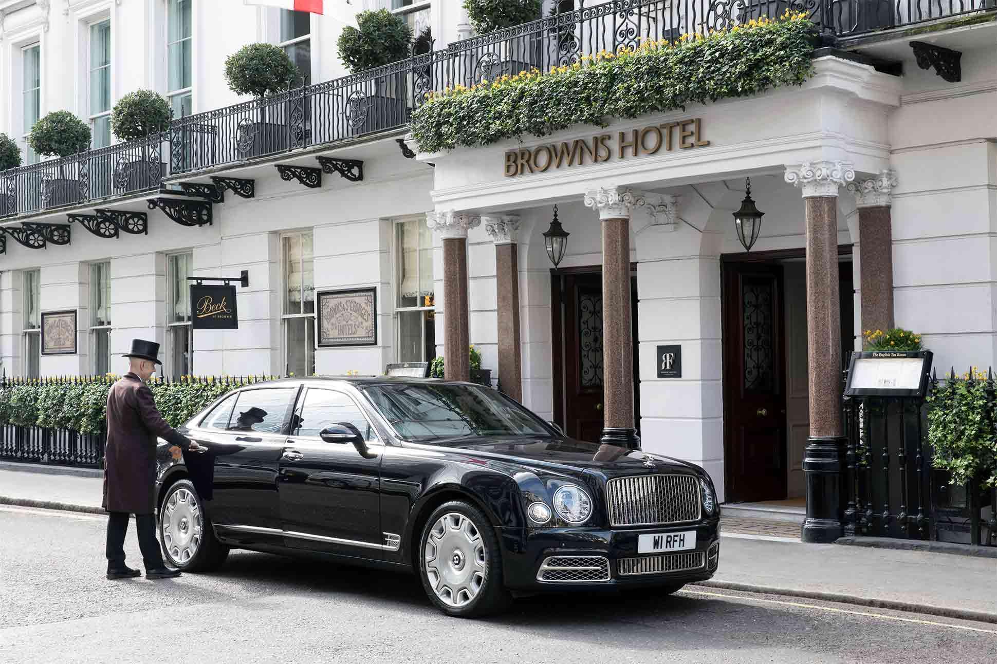 Brown's Hotel <br> London, United Kingdom