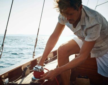 Sailing in Montenegro
