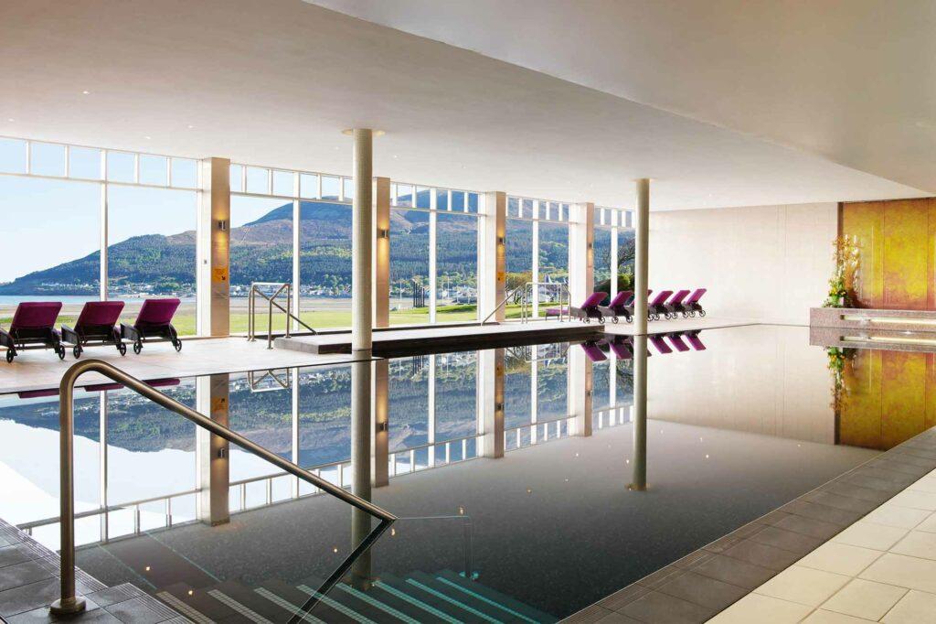 Pool at the Slieve Donard Resort & Spa, Newcastle, Northern Ireland, United Kingdom