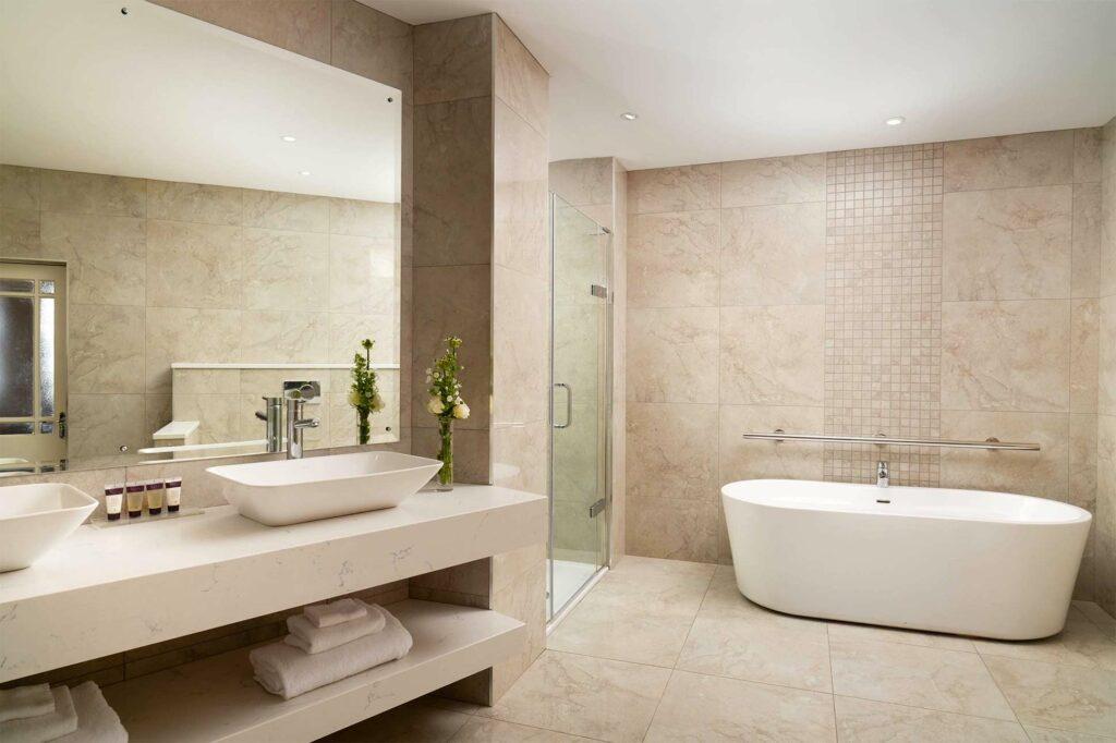 Bathroom at the Slieve Donard Resort & Spa, Newcastle, Northern Ireland, United Kingdom